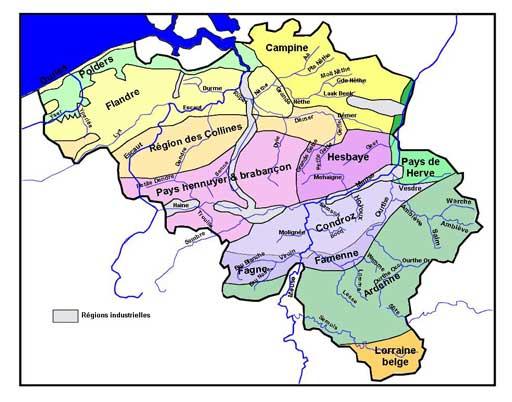 Carte Belgique Hamoir.Situation Geographique De La Calestienne