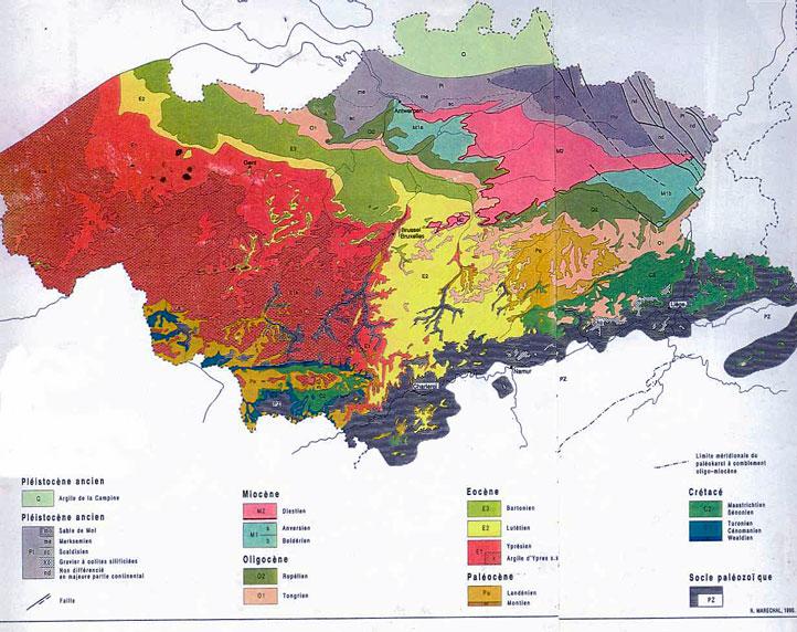 Carte Geologique Australie.Http Www Fossiliraptor Be Argiledeboom Htm