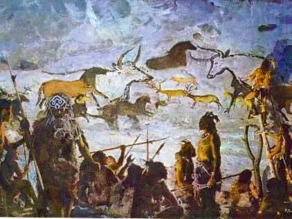 l'image de l'homme préhistorique - Page 6 Peintures